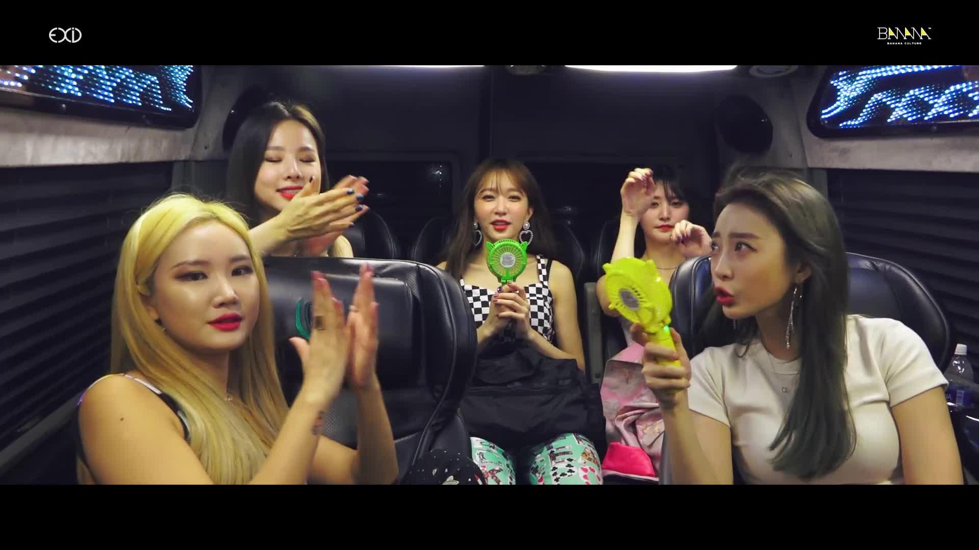 [EXID(이엑스아이디)] 베트남 'DIANA' 콘서트 스케치(VIETNAM DIANA CONCERT SKETCH)