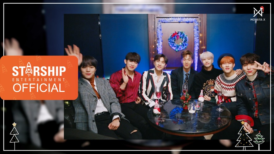 [Special Clip] 몬스타엑스 (MONSTA X) - 2018 Christmas Message