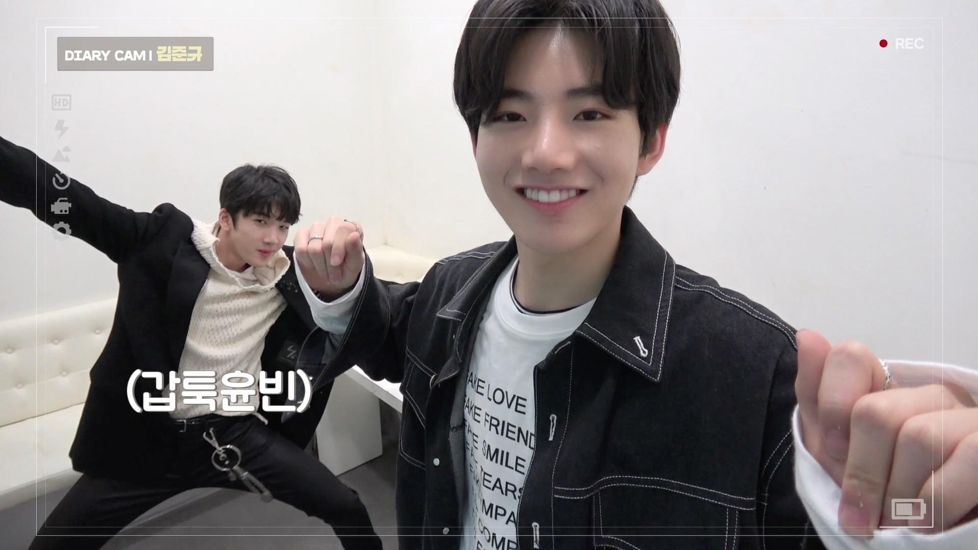 [DIARY CAM 3] 김준규 <KIM JUNKYU> l YG보석함
