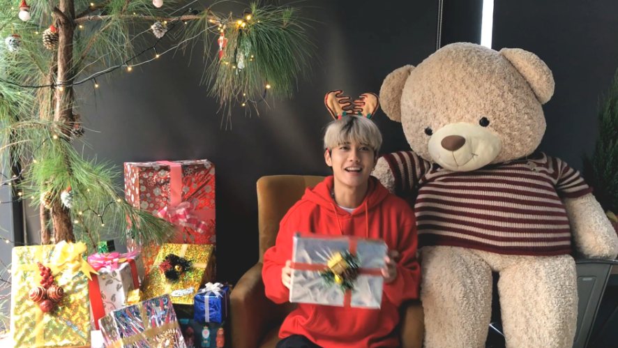 AVIN LU - 2018 Christmas Greeting to V Fans