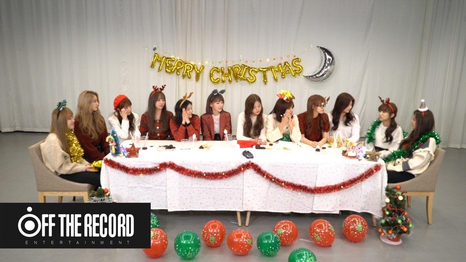IZ*ONE (아이즈원)의 크리스마스 파티