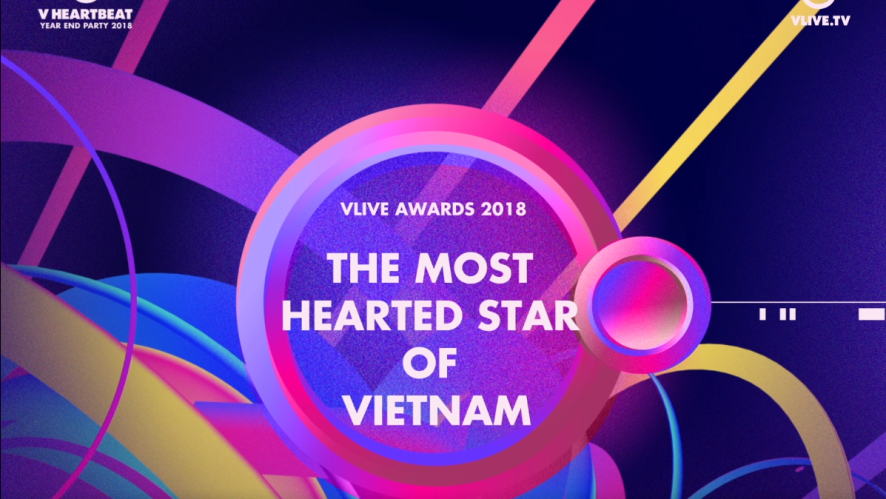 V HEARTBEAT YEAR END PARTY 2018 - THE MOST HEARTED STAR OF VIETNAM