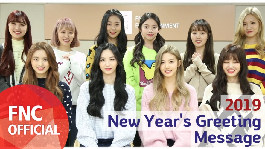 Cherry Bullet 2019 New Year's Greeting Message