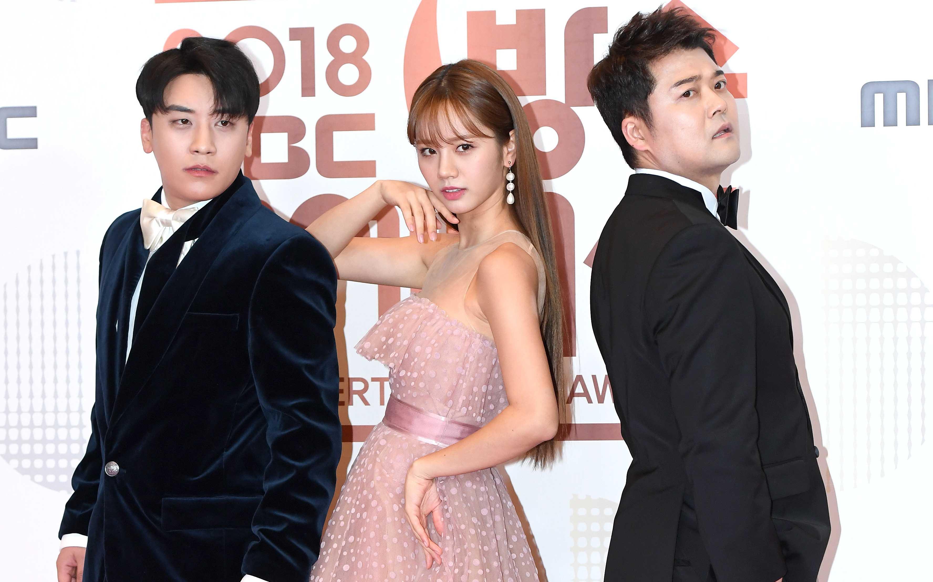 [Oh! 모션] '2018 MBC 방송연예대상 스폐셜 MC'(승리-혜리-전현무)