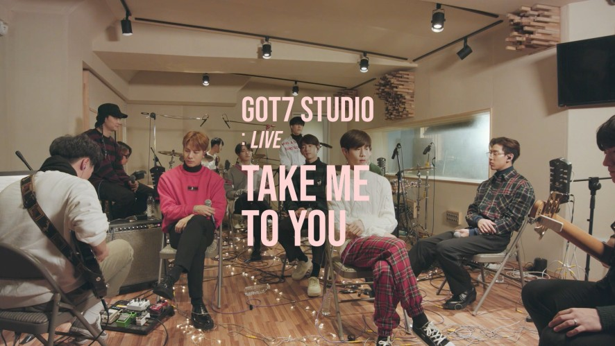 "[GOT7 STUDIO] GOT7(갓세븐) ""Take Me To You"" Live"