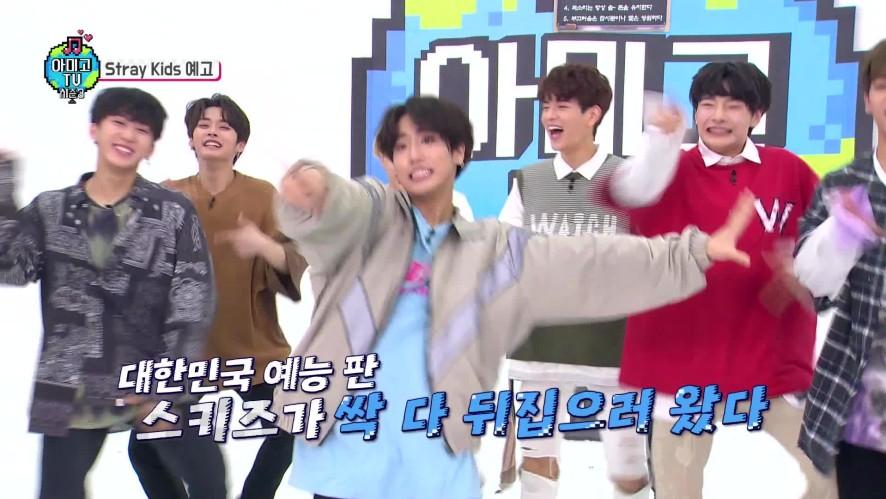 [아미고TV 3] 스트레이키즈 예고 예능판을 싹 다 뒤집으러 왔다! (본방 1/4 오후 6시 공개)
