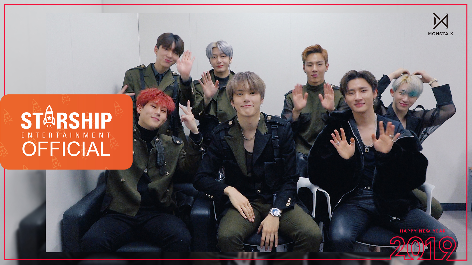 [Special Clip] 몬스타엑스 (MONSTA X) - 2019 새해 인사 (2019 New Year's Greetings)