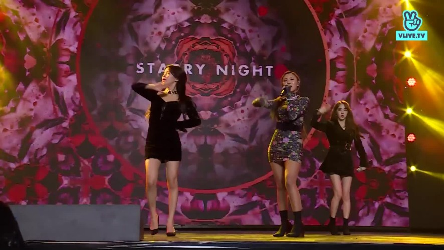 MAMAMOO - Wind flower , Egotistic , Starry night - V HEARTBEAT YEAR END PARTY 2018