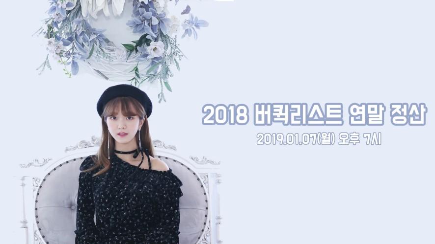 ☆김소희☆ 2018 버퀵리스트 연말정산