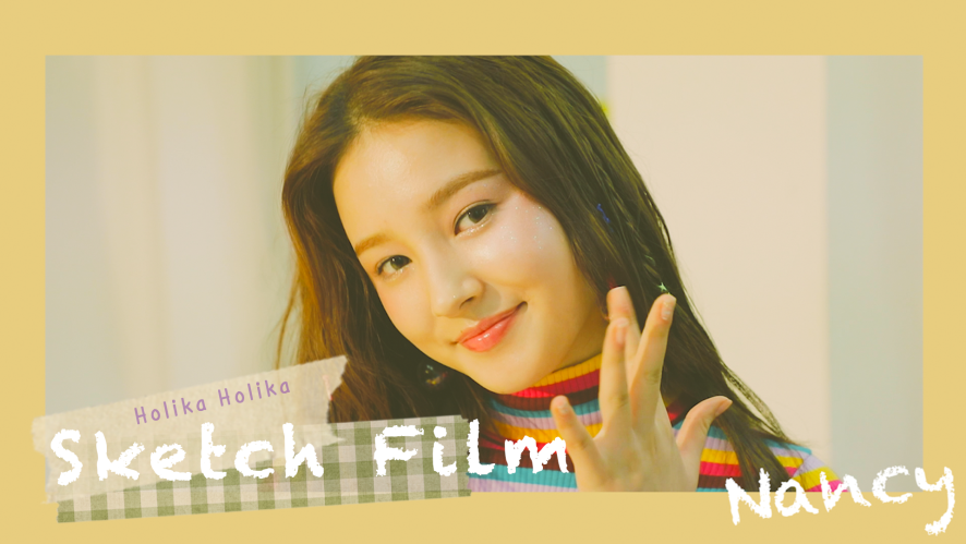 [Sketch Film] 모모랜드 낸시 'HolikaHolika' 촬영 현장 01