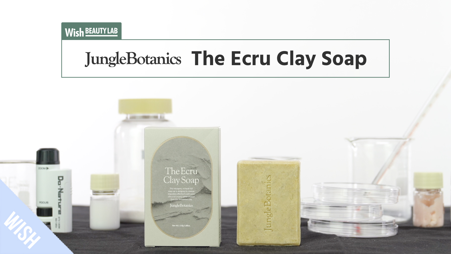 Comparison of Pores for Oily Skin Before and After Cleansing | JUNGLE BOTANICS Ecru Clay Soap