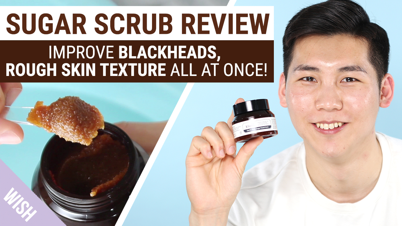 Easiest Way to Remove Blackheads & Dead Skin Cells at Once | Klairs Gentle Black Sugar Facial Polish