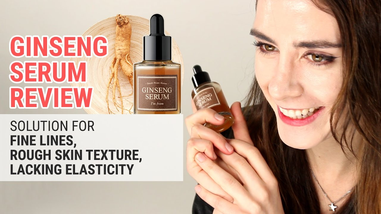 The Best Anti Aging Serum for Fine Lines & Elasticity | I'm From Ginseng Serum