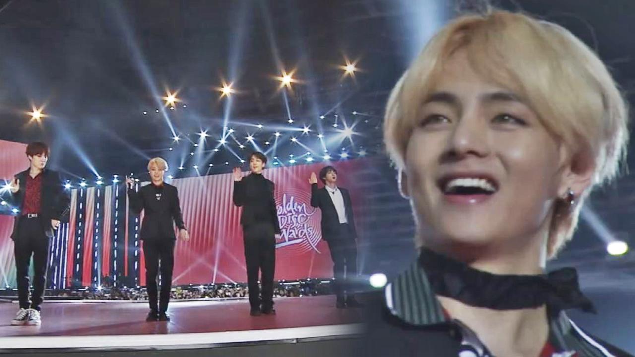 (미방송)[제33회 골든디스크] 방탄소년단(BTS) 'IDOL' 대상 앵콜 무대