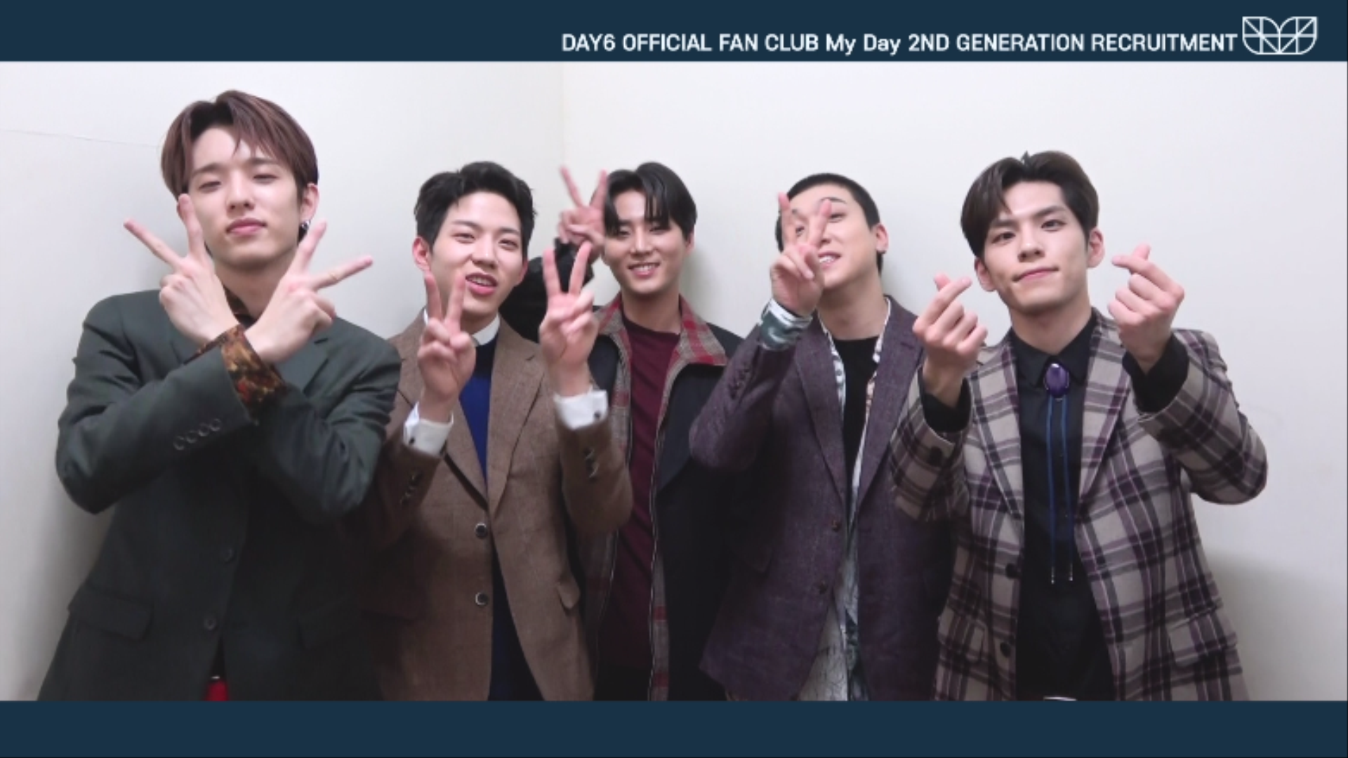 "DAY6 OFFICIAL FAN CLUB ""My Day"" 2ND GENERATION INVITATION VIDEO"