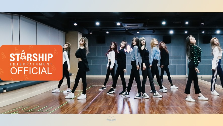 [Dance Practice] 우주소녀 (WJSN) - La La Love Fixed Cam Ver.