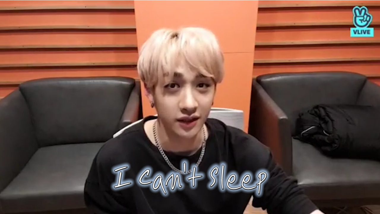 [Stray Kids] 세기의 명곡 불면증 가이드 듣느라 I can't sleep... (Chan playing 'Insomnia' guide version)