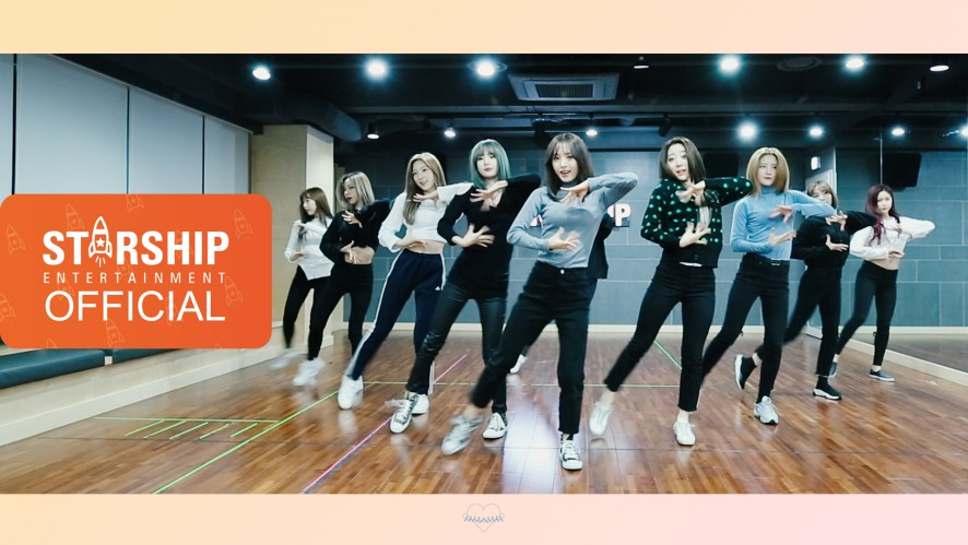 [Dance Practice] 우주소녀 (WJSN) - La La Love Moving Cam Ver.