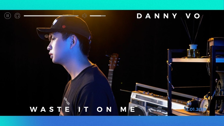 """""""WASTE IT ON ME (STEVE AOKI ft. BTS)"""" Cover by DANNY VO"""