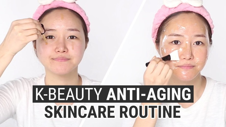 Korean Skin Care Routine for Anti Aging | I'm From Ginseng Serum & Ginseng Mask