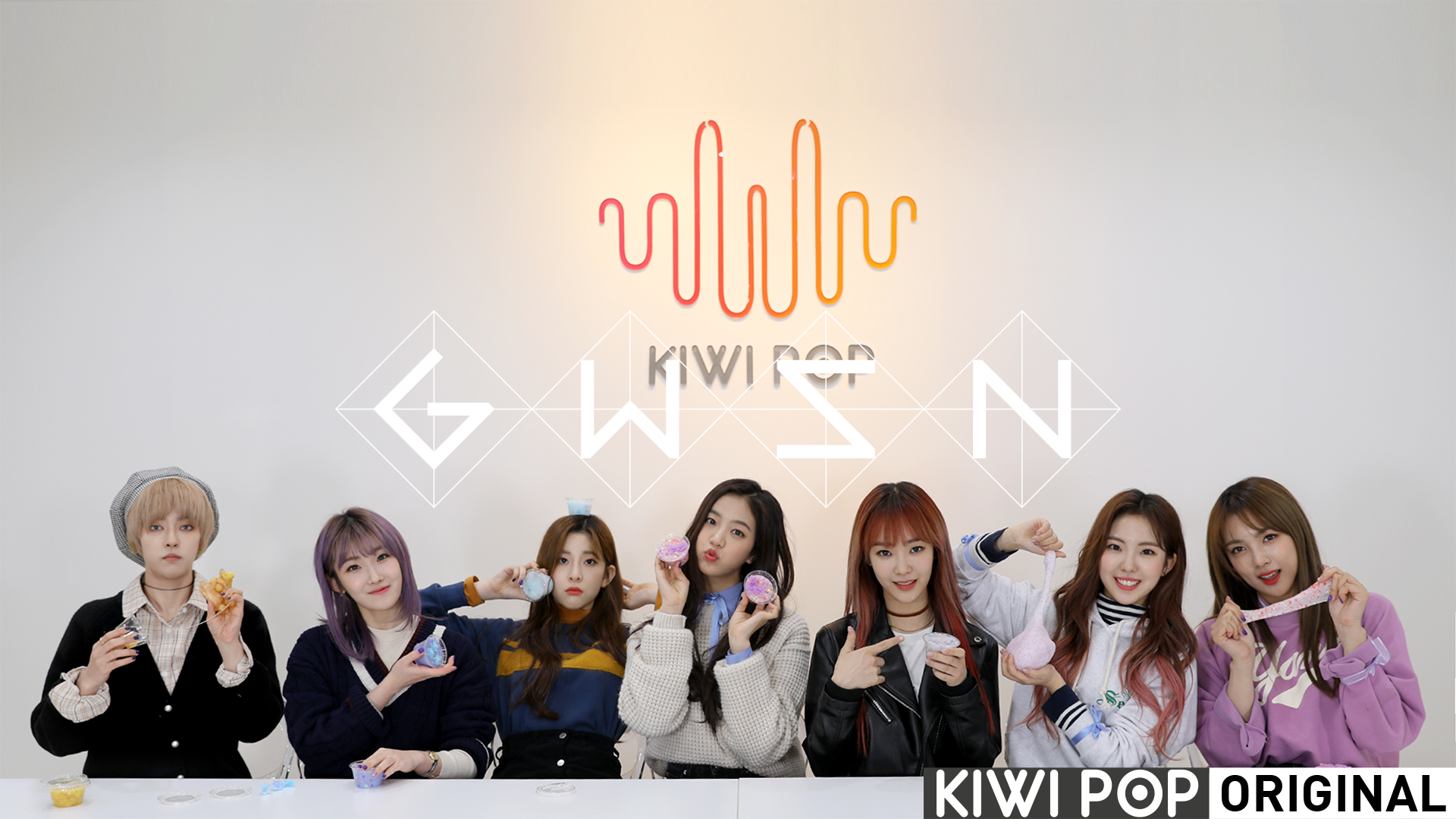 [GWSN V] Let's Make Slimes with GWSN!!