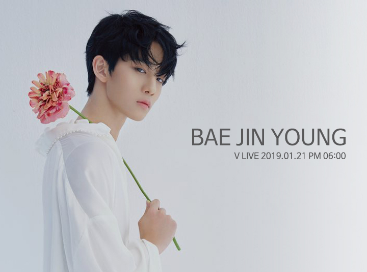 BAE JIN YOUNG V LIVE
