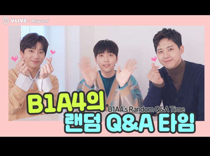 """[ⓓ xV] """"B1A4의 랜덤 Q&A 타임"""" (비원에이포:B1A4)"""
