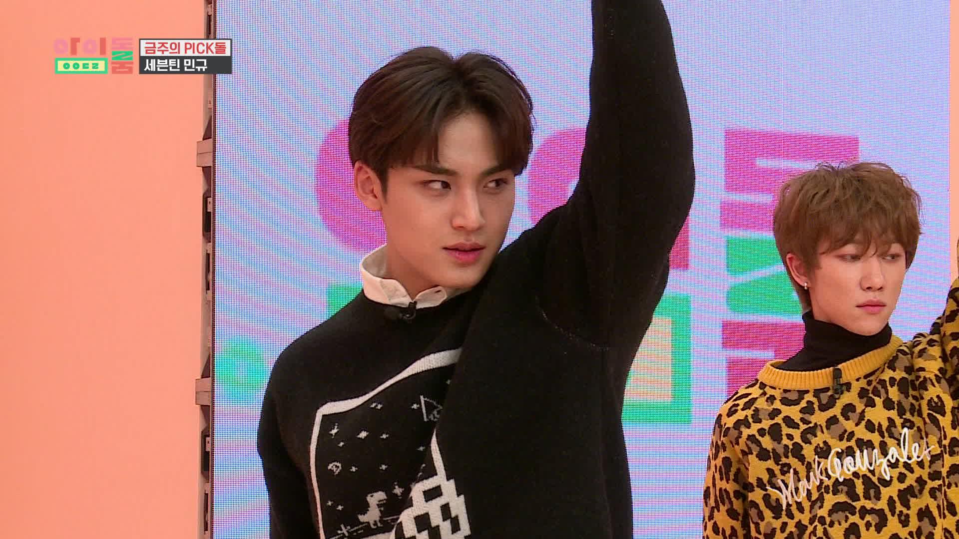 아이돌룸(IDOL ROOM) 36회 밍구CAM - 세븐틴 신곡 'HOME' 나노댄스♬
