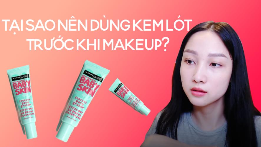 TRANG MING | Tại sao nên dùng kem lót trước khi makeup?