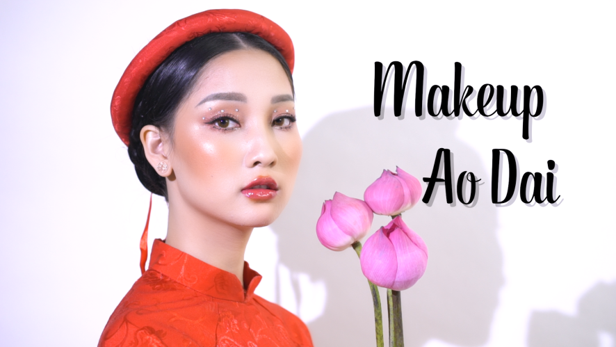 """MAKE UP AO DAI"" TRANG MING [BEAUTY]"