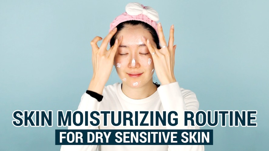 Skin Moisturizing Routine for Dry Sensitive Skin | Rich Moist Soothing Package