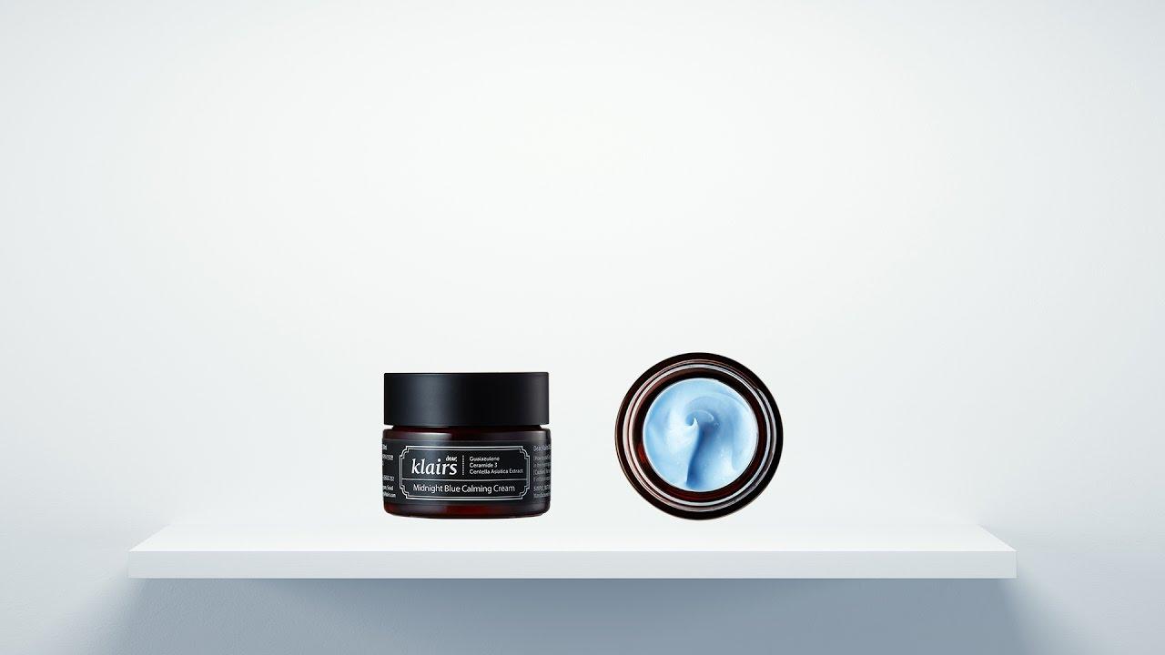 How to Calm & Rejuvenate Skin Fast? | Klairs Midnight Blue Calming Cream