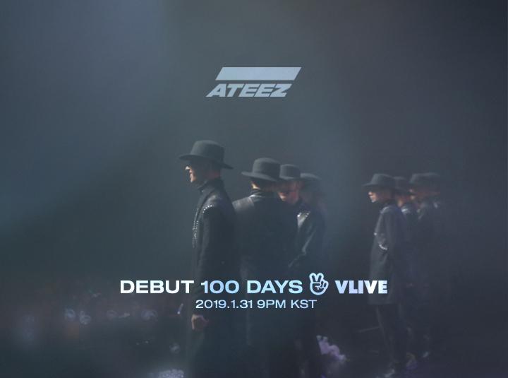 ★ DEBUT 100 DAYS V LIVE ★
