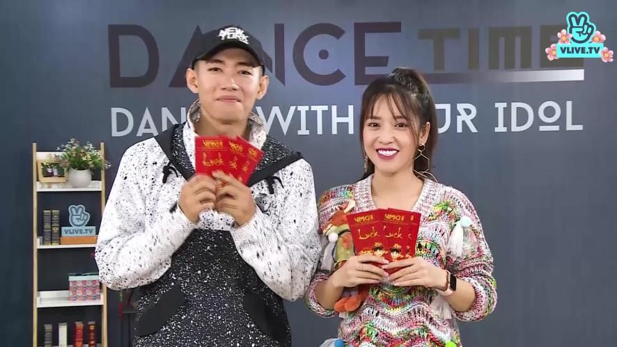Puka và Quang Đăng chúc mừng năm mới 2019