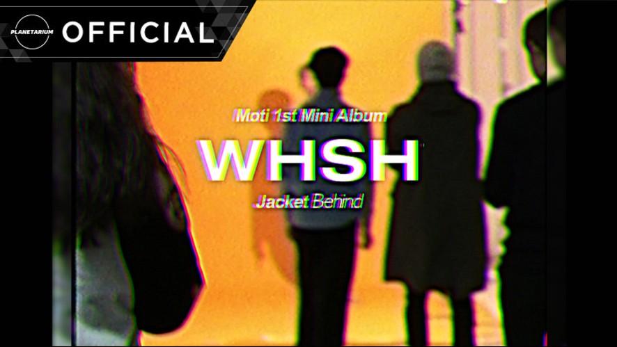 모티(Moti) - 'WHSH' Jacket Behind