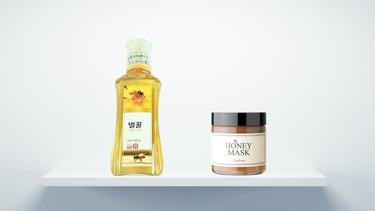 [I'M FROM] Honey Mask VS Real Honey