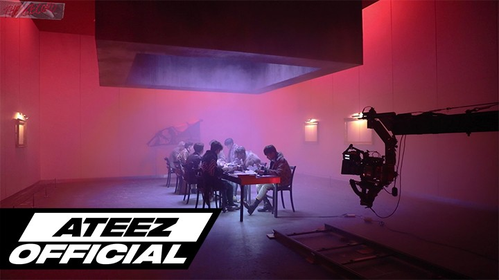 [ATEEZ] THE RECORD_EP 09. 2nd EP M/V Shoot Behind_PART 2