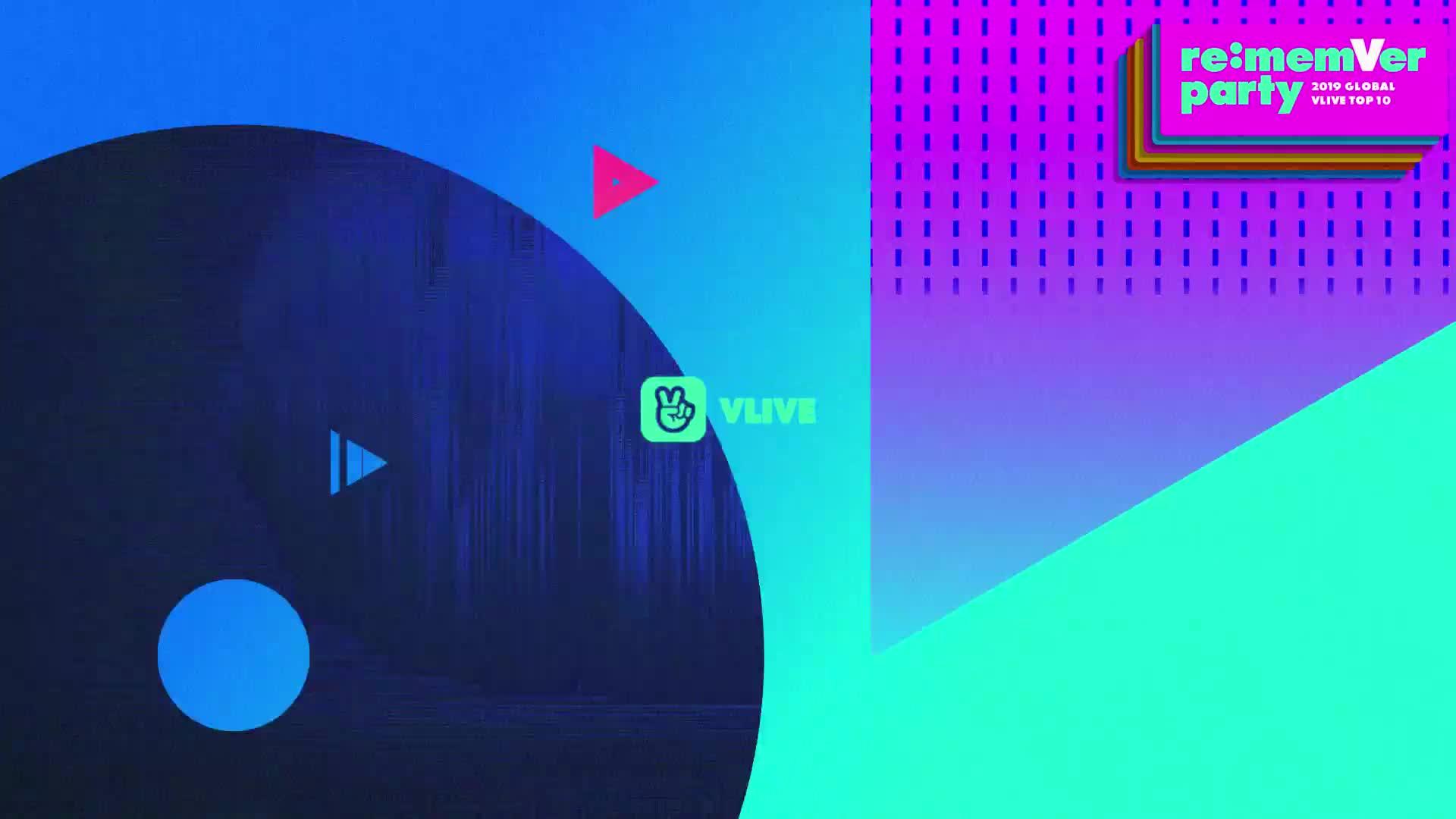 GOT7 리멤버파티 시상식 파트 2 / 2019 GLOBAL VLIVE TOP 10
