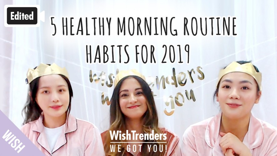 [Edited] Easy Morning Care Routine for Health | Habits to Recenter Myself Starting from Skincare