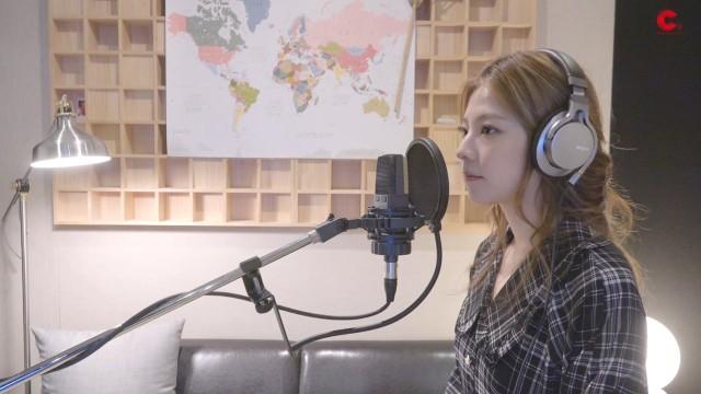 JUNIEL(주니엘) - '삐뚤빼뚤' 녹음실 LIVE