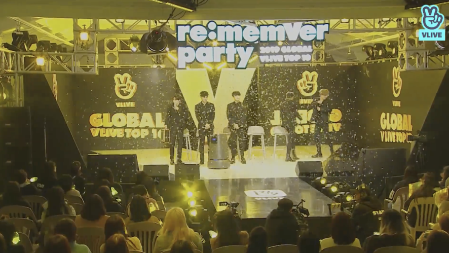 GOT7 re:memVer party [FULL] 2019 GLOBAL VLIVE TOP 10