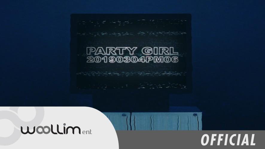 """장동우(Jang Dong Woo) """"Party Girl"""" Teaser (Short ver.)"""