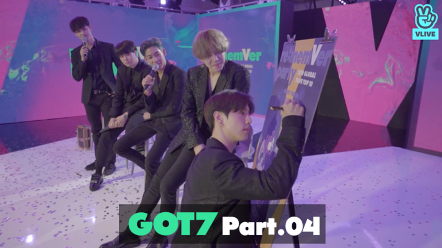 GOT7 re:memVer party [Part.04] 2019 GLOBAL VLIVE TOP 10