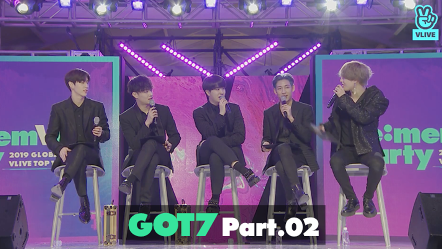 GOT7 re:memVer party [Part.02] 2019 GLOBAL VLIVE TOP 10