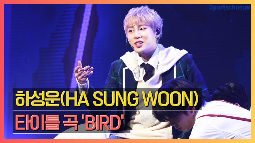 하성운(HA SUNG WOON), 타이틀 곡 'BIRD' Showcase Stage