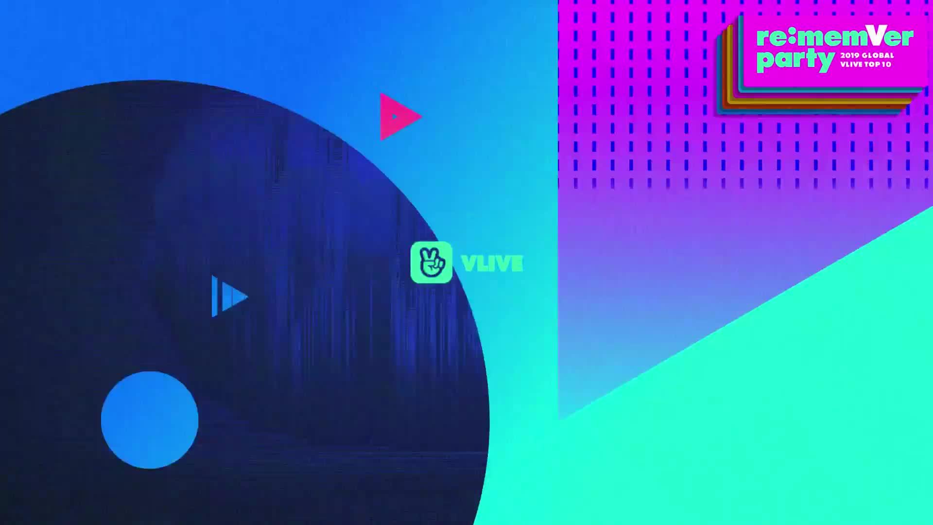 레드벨벳 리멤버파티 시상식 파트 1 / 2019 GLOBAL VLIVE TOP 10