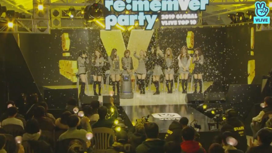 TWICE re:memVer party [FULL] 2019 GLOBAL VLIVE TOP 10