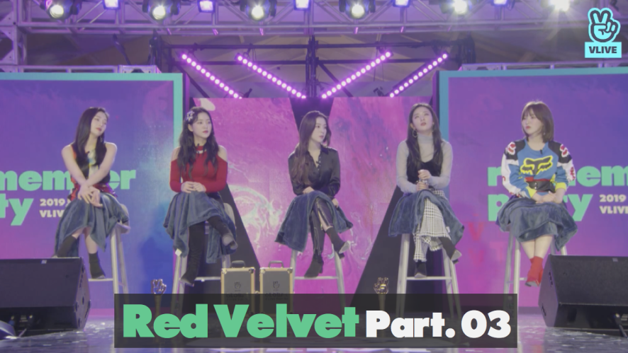 Red Velvet re:memVer party [Part.03] 2019 GLOBAL VLIVE TOP 10