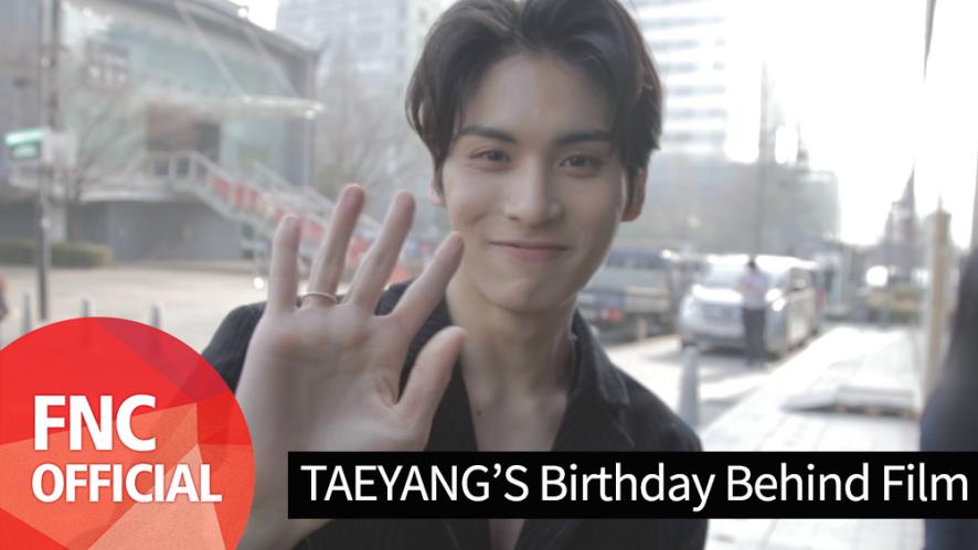 SF9 TAEYANG's Birthday Behind Film