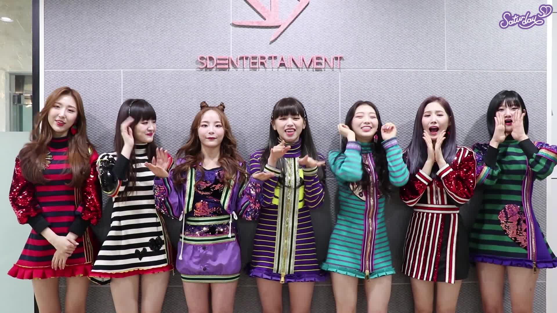 ♥세러데이(SATURDAY)의 첫 브이앱♥